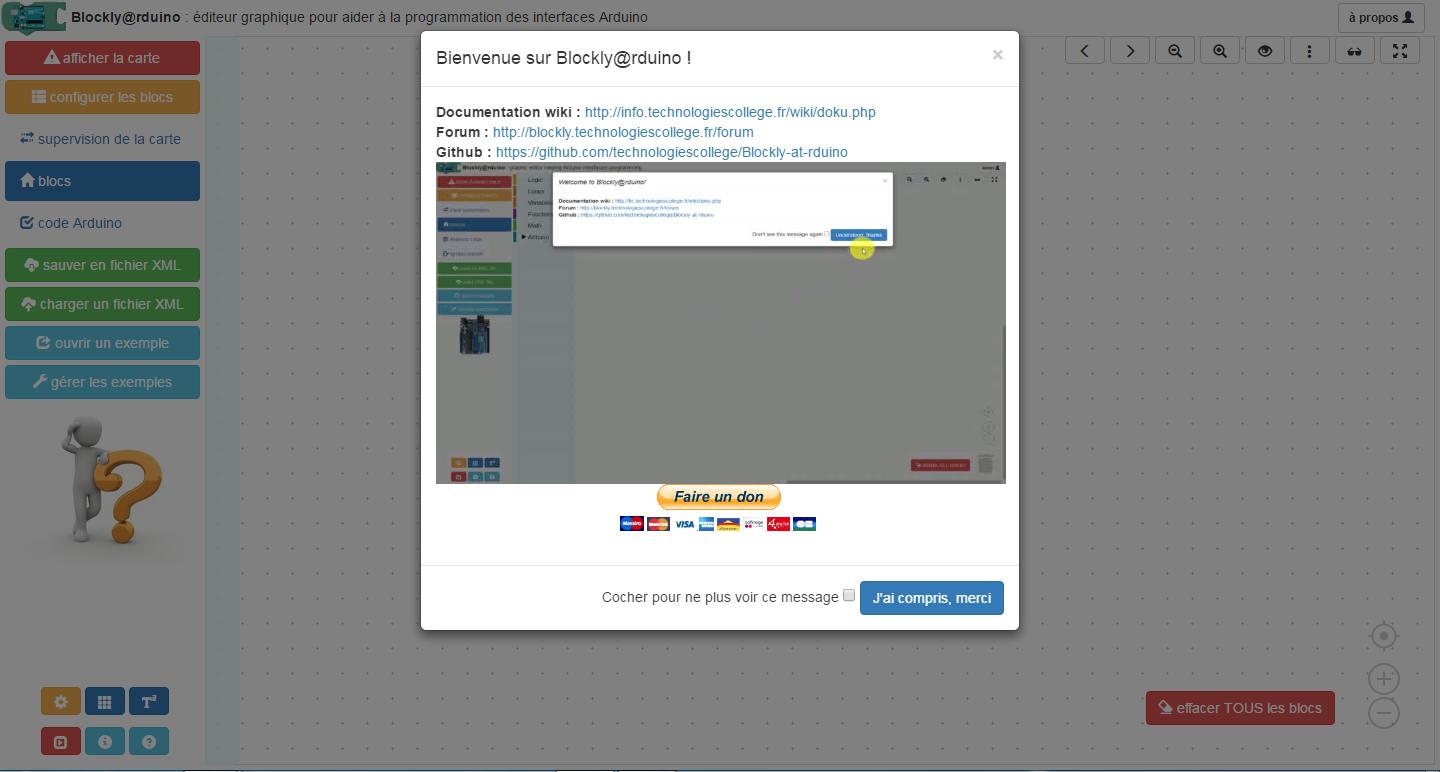 Électronique en amateur: Blockly@rduino: programmez votre Arduino