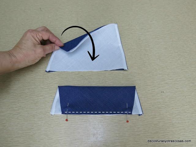 como coser un cuello cuadrado paso a paso