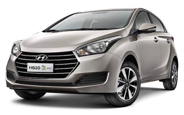 Hyundai HB20 2018 Automático