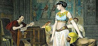 Storia scuola: personaggi: Cleopatra e Giulio Cesare