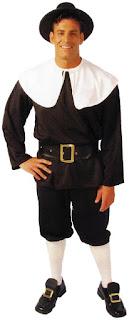 Men Pilgrim Costume