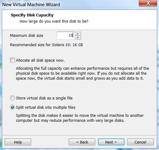 how to create virtual machine in vmware workstation 9