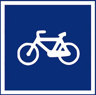 señal R-407 salamanca en bici
