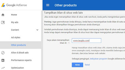 Cara Terbaru Upgrade Akun Google Adsense Hosted Ke Non Hosted