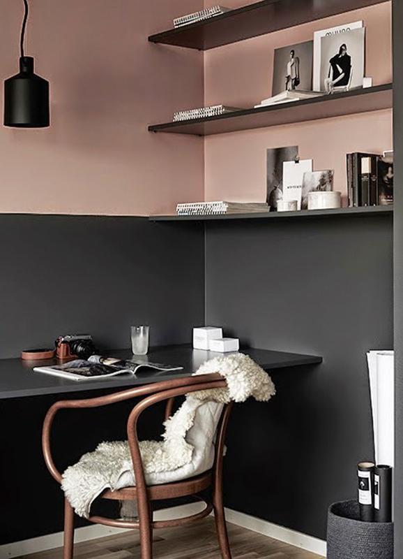 Copper Blush Paint Color