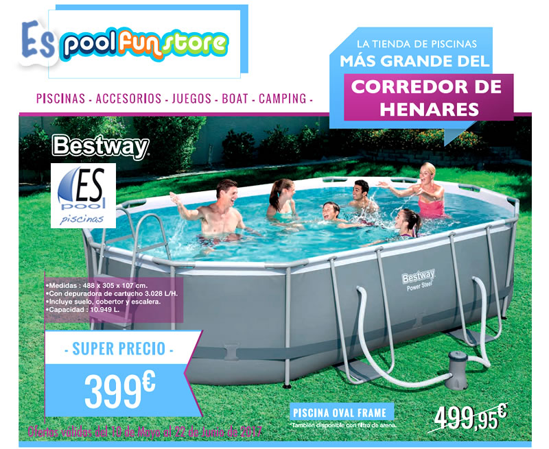 Dr espool blog de espool piscinas piscinas for Piscinas desmontables grandes