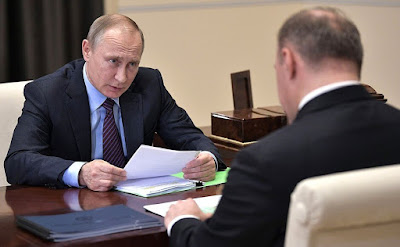 Vladimir Putin, Acting Head of the Republic of Adygeya Murat Kumpilov