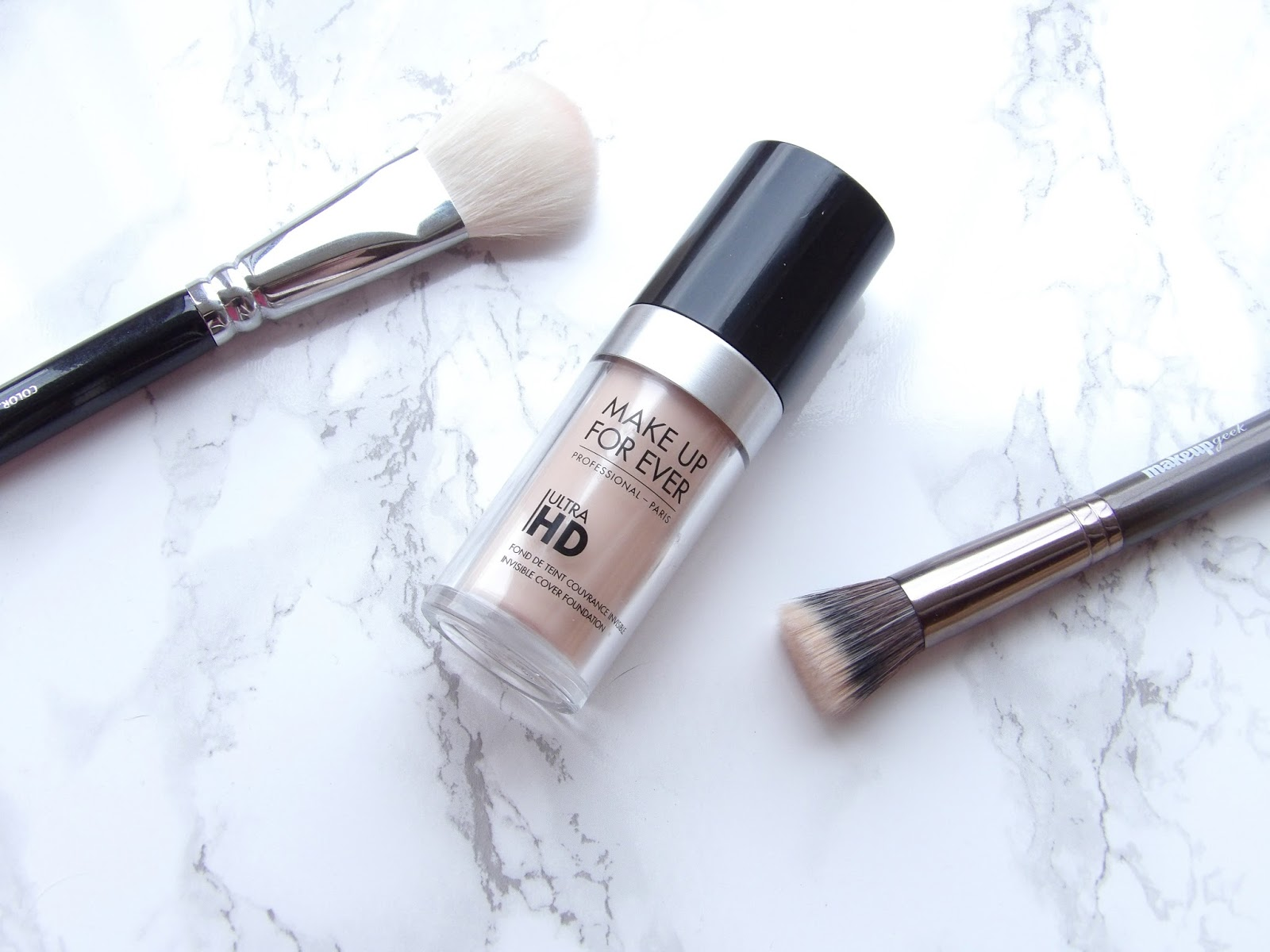 MAKE UP FOR EVER ULTRA HD FOUNDATION | REVIEW + SWATCHES