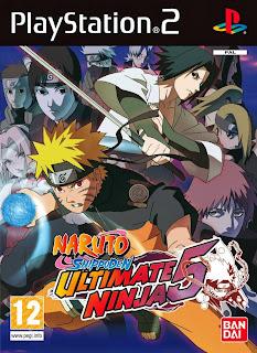 Naruto Shippuden 5 Ps2 ISO