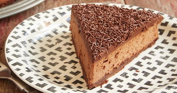 Brownie Bottom Chocolate Cheesecake Recipe