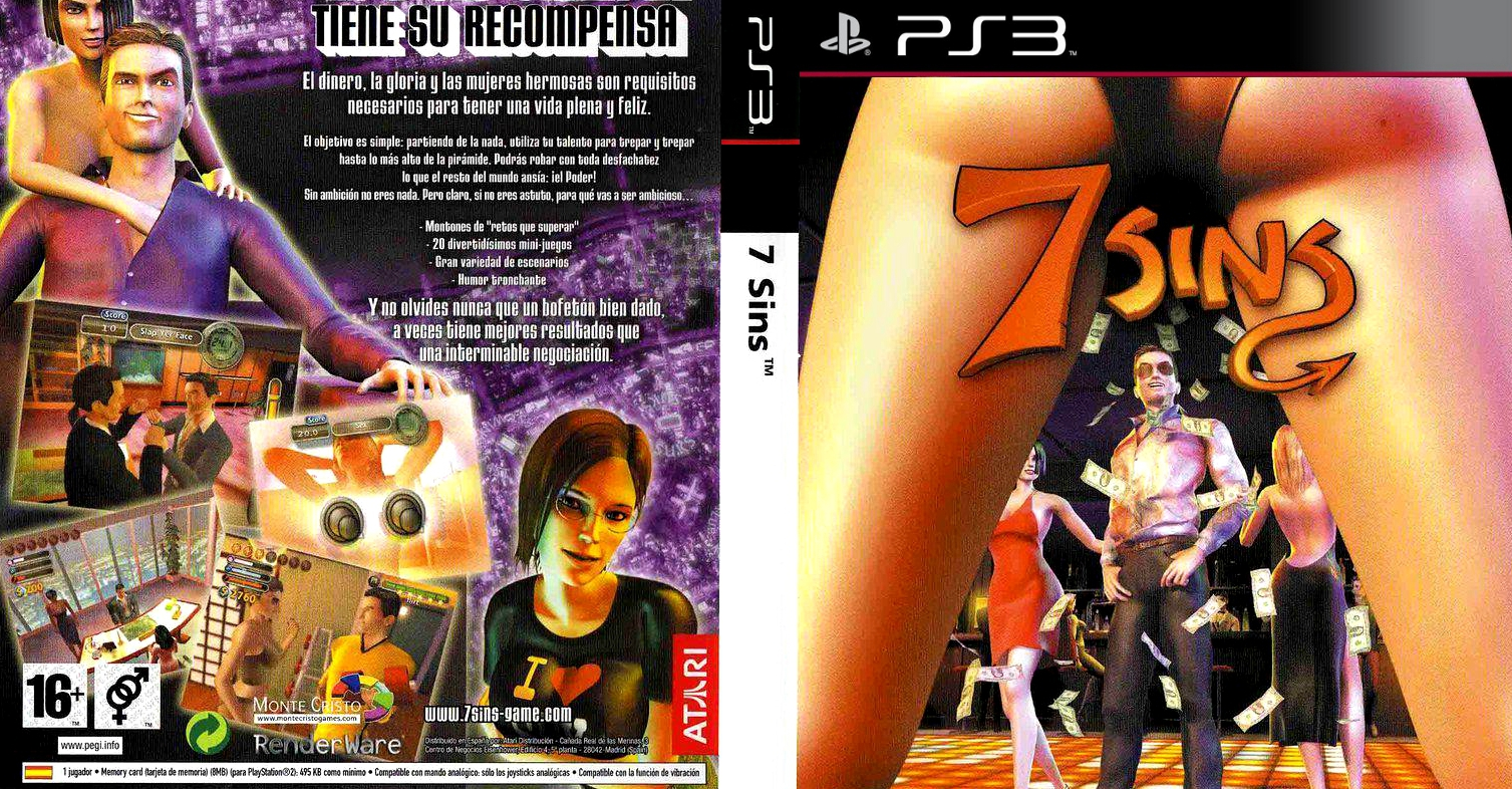 GAMES AND GAMERS: 7 SINS PS3/PS2 DOWNLOAD