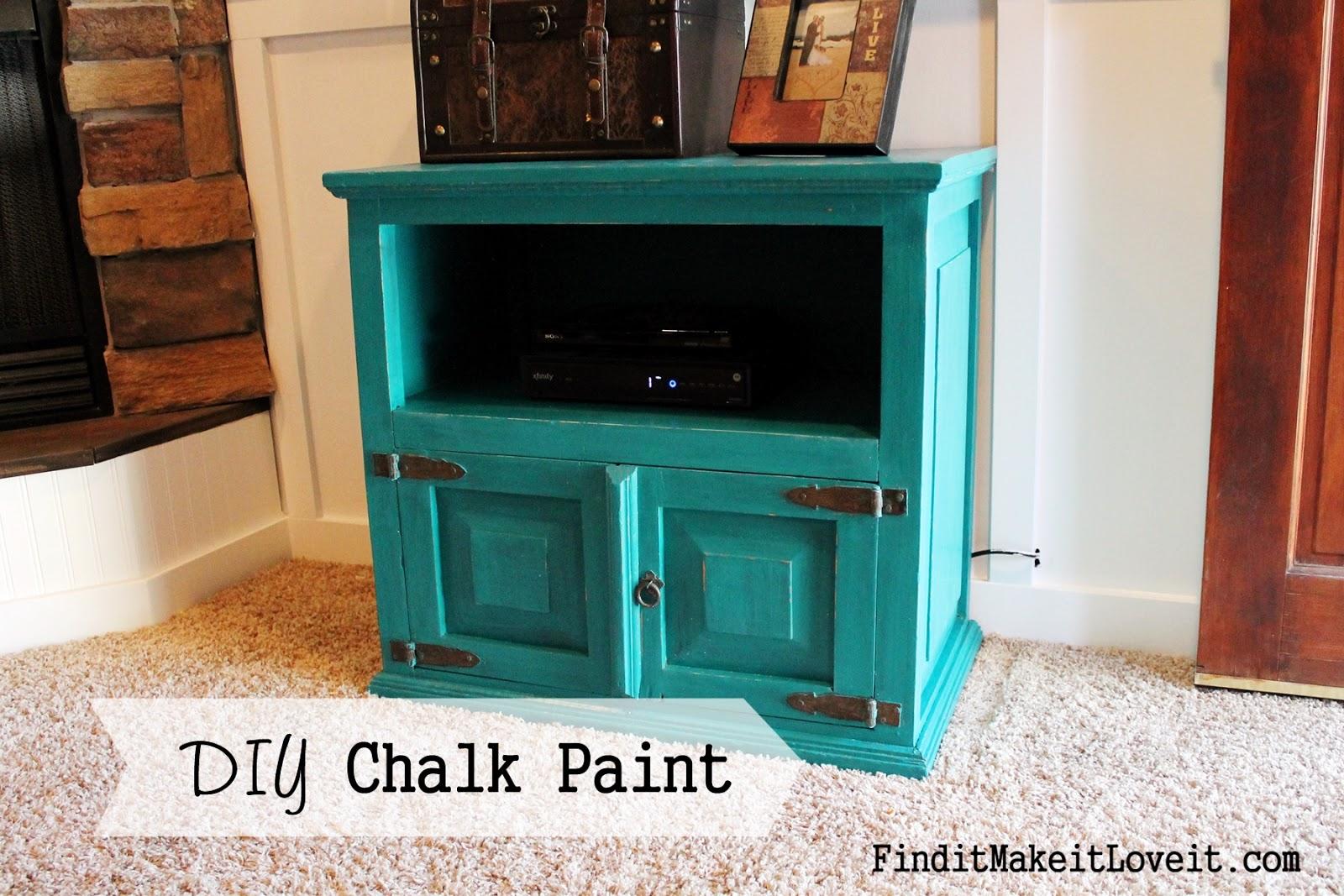 Diy Chalk Paint Find It Make It Love It