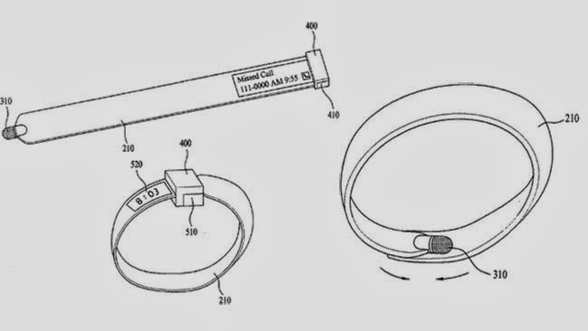 LG patents flexible capacitive stylus that can be worn on your arm like a smartwatch
