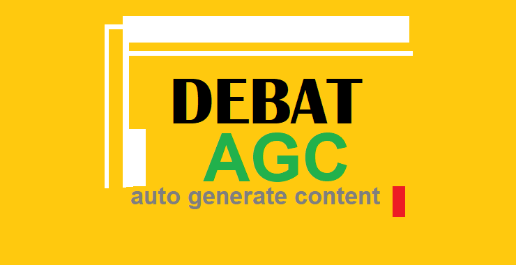 Debat Pro Kontra AGC (Auto Generated Content)