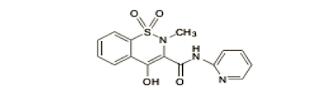Piroksikam ialah obat Antiinflamasi Nonsteroid dari kelas oxicam dipakai untuk meringan Piroksikam