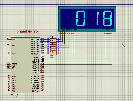 [8051 TUTORIAL] BÀI 11 Chương trình hiển thị LED 7 đoạn từ 000 đến 255
