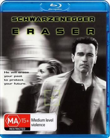 Eraser 1996 Dual Audio Hindi 720p BRRip 800mb
