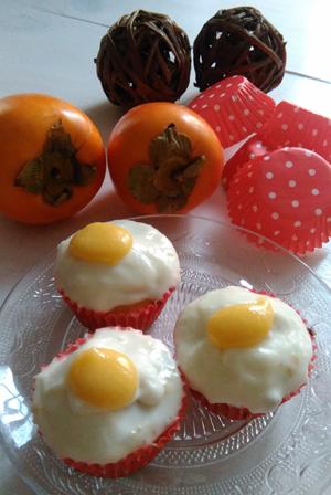 recetario-dulce-caqui-reto-disfruta-noviembre-cupcakes