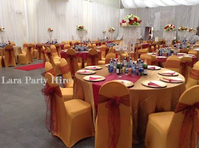 gold chair covers with black sash hans wegner lara party hire spandex cover may 2018 special offer burgundy organza sashes