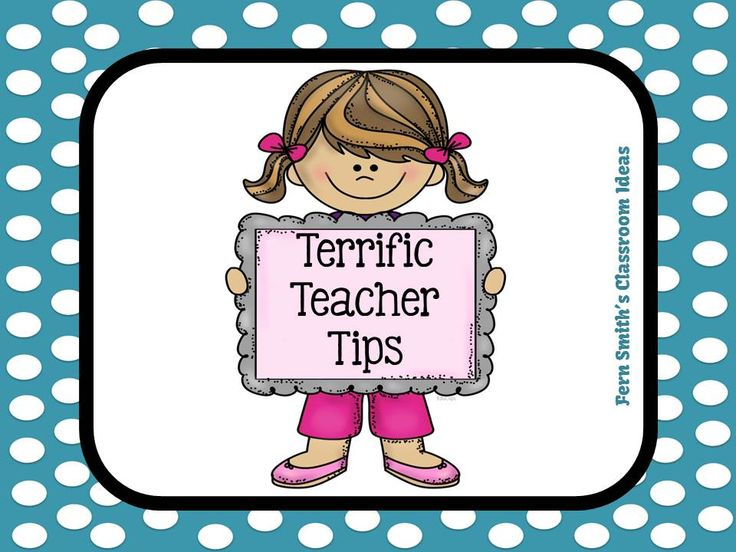Fern Smith's Classroom Ideas Terrific Teacher Tips