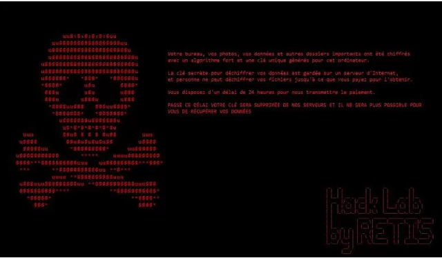 Ransomware Yang Baru Saja Terdeteksi disebut Retis