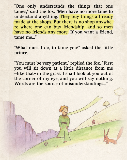 8 Antoine De Saint Exupery Quotes From The Little Prince: Saraannk: The Tamed