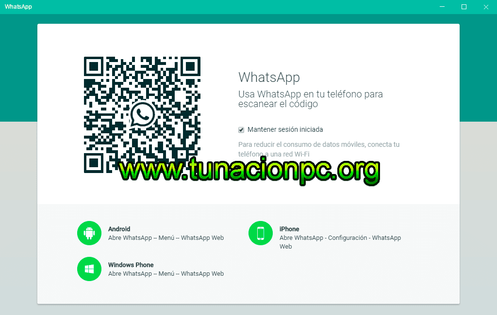 WhatsApp Windows