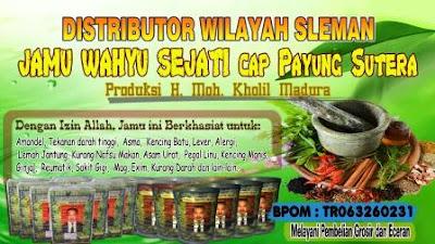 Distributor resmi Jamu Wahyu Sejati Sleman