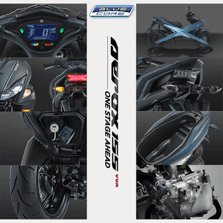 Fitur Spesifikasi Yamaha Aerox 155 VVA