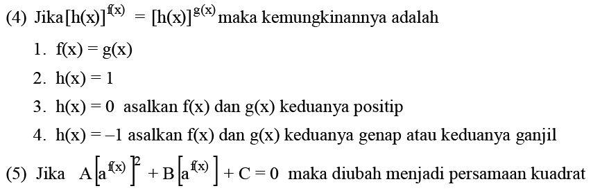 Persamaan Eksponen - Materi Lengkap Matematika SMA SMK MA 0fbc04154b