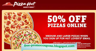 Free Printable Pizza Hut Coupons