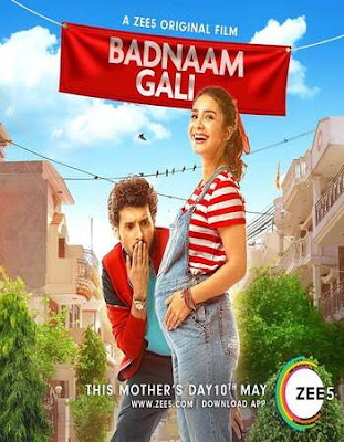 Badnaam Gali 2019 Hindi 720p WEBRip 900MB