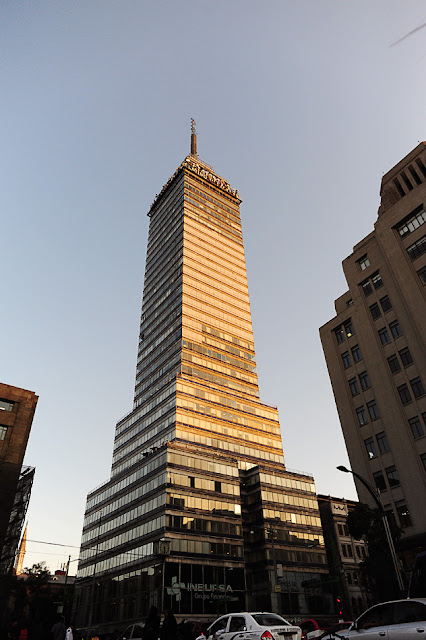 ogled v mexico city: torre latinoamericana