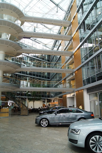 A visit to the Audi factory in Ingolstadt, Germany  Part 2