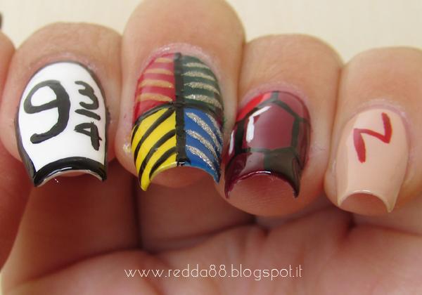 Harry Potter e la Pietra Filosofale nail art