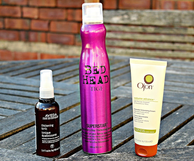 A picure of Aveda, Tigi and Ojon Hair Products