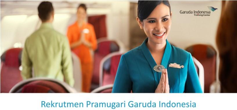 Rekrutmen Pramugari Garuda Indonesia 2018