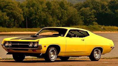 1971 Ford Torino Cobra Fastback Front Left