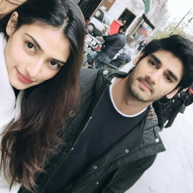 Athiya shetty with brother, Ahan Shetty