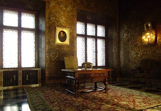 Zamek Królewski na Wawelu. Sala pod Orłem.