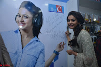 Rakul Preet Singh in a Designer saree at Launch of BIG C Show room at  Kurnool ~ Celebrities Galleries 016.jpg