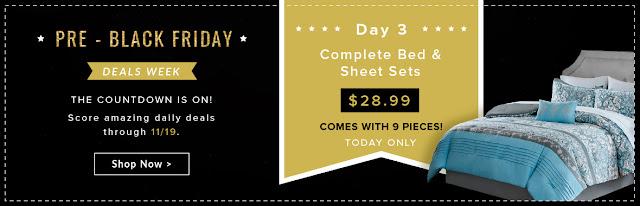 comforter set deals