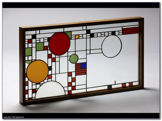 Buy Frank Lloyd Wright Stained GLASS WINDOW Patterns