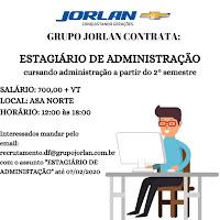 Estagio - Grupo Jorlan