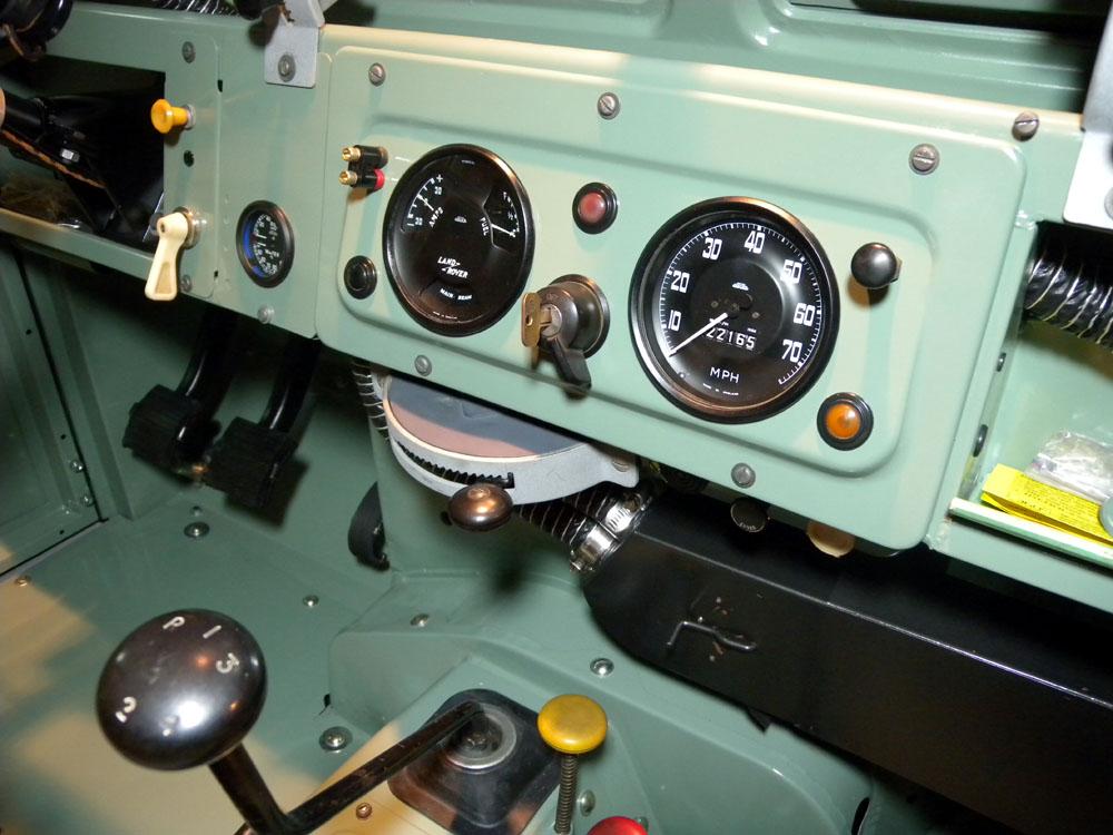 1960 Land Rover Restoration: Instrument Panel