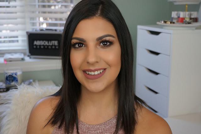 Anastasia Beverly Hills Modern Renaissance eyeshadow palette tutorial after picture