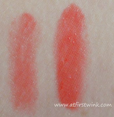Etude House Sweet Recipe Dear My Jelly Lips JOR203 swatch on arm