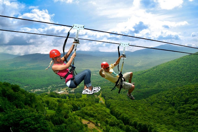 "Places in Vietnam where you can ""chill"" yourself with Zipline"