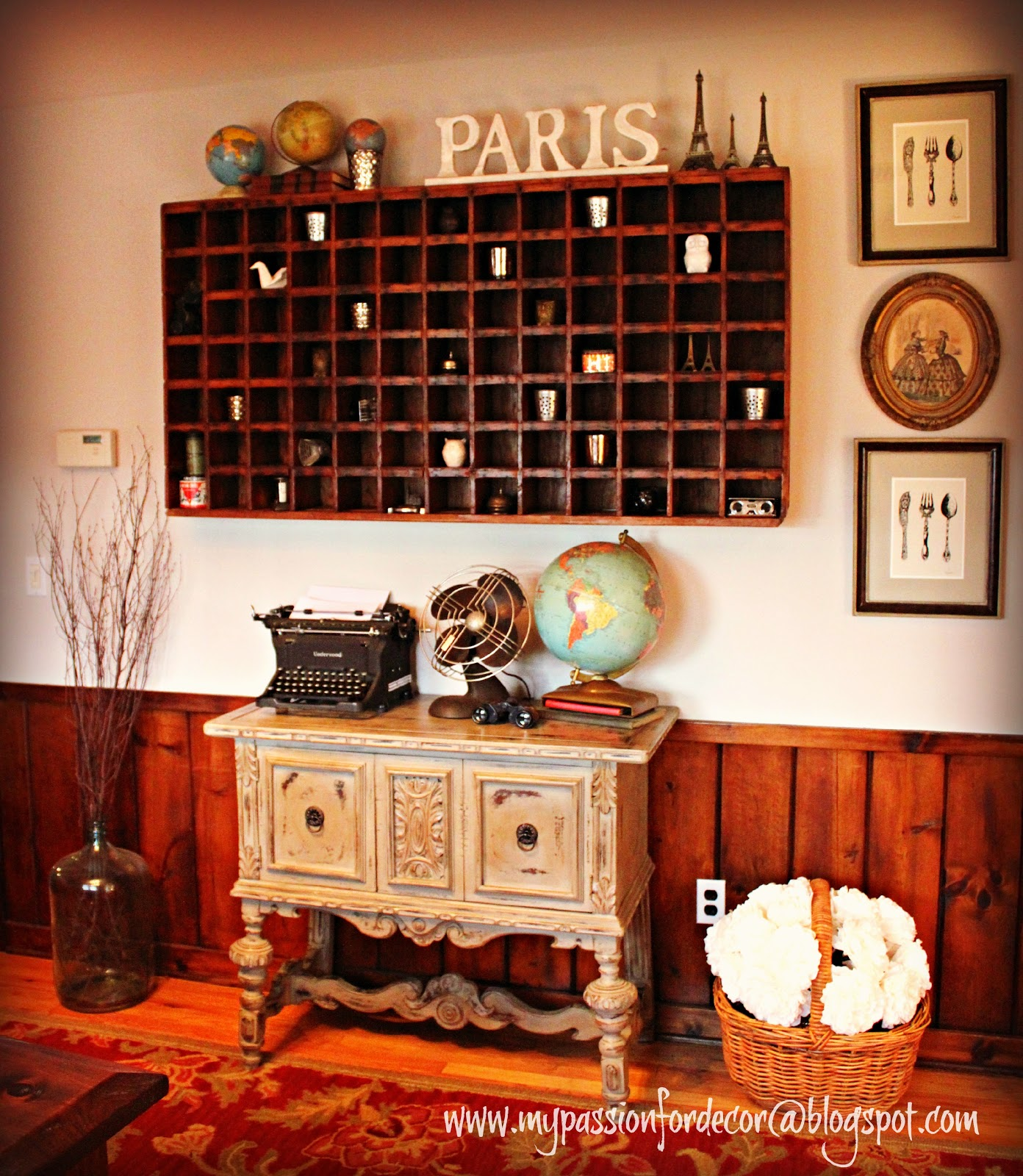 Mail Order Kitchen Cabinets: My Passion For Decor: Restore Cabinet And Antique Mail Sorter
