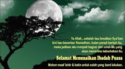 Kata-Kata Ucapan Menyambut Bulan Suci Ramadhan